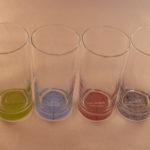 Longdrink glazen - chakra's, per 4 stuks